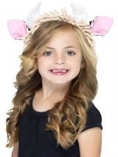 Child's Cow Ears On Headband